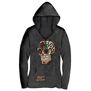 Burnout Pirates of the Caribbean Hoodie for Women