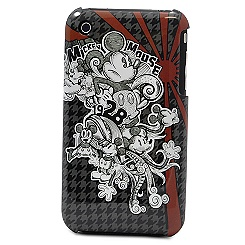Houndstooth Mickey Mouse iPhone 3G Case