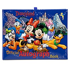 Official Disneyland Resort Autograph Book