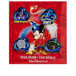 Walt Disney World Pin Set - 4-Pc
