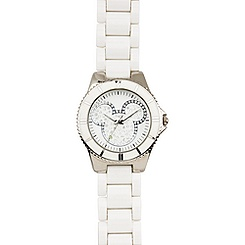 Pavé Crystal Mickey Mouse Watch for Women -- Large