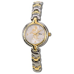 Mickey Mouse Watch for Women with Icon Links Band