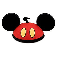 Mickey Mouse Red Pants Ear Hat