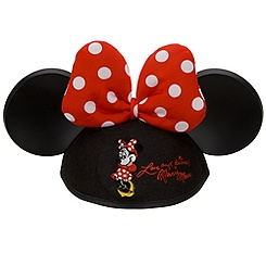 Minnie Mouse Ear Hat for Girls - Personalizable