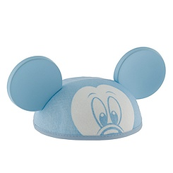 Personalizable Mickey Mouse Ear Hat for Baby Boys -- Blue