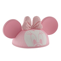 Minnie Mouse Ear Hat for Baby - Personalizable