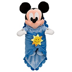 Disney's Babies Mickey Mouse Plush Doll and Personalized Blanket