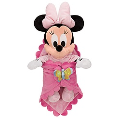 Disney's Babies Minnie Mouse Plush Doll and Personalized Blanket