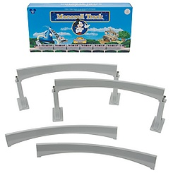 Disney Parks Monorail Track -- Curved