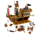 Mickey Mouse Pirates of the Caribbean Pirate Ship Play Set