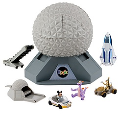 Epcot Spaceship Earth Play Set