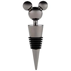 Mickey Mouse Bottle Stopper - Black