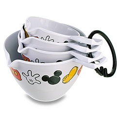 Best of Mickey Mouse Measuring Cup Set -- 4-Pc.
