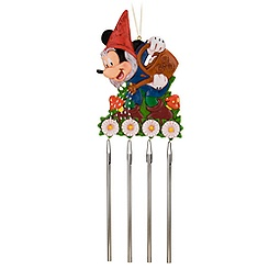 Mickey Mouse Garden Gnome Wind Chimes