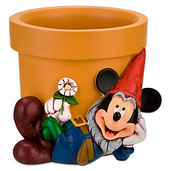Mickey Mouse Garden Gnome Flower Pot