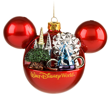 Walt Disney World Resort Mickey Mouse Ornament