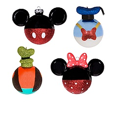 Mickey and Friends Ornament Set