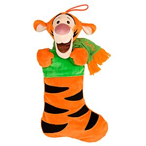 Tigger Plush Stocking