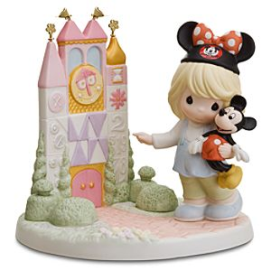 A Smile Means Friendship to Everyone its a small world Figurine by Precious Moments