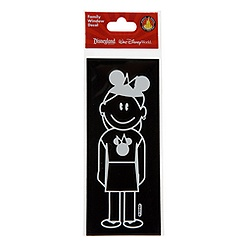 Disney Parks Authentic Family Window Decal -- Mom