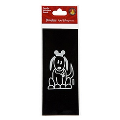 Disney Parks Authentic Family Window Decal -- Dog