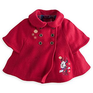 Minnie Mouse Holiday Cape