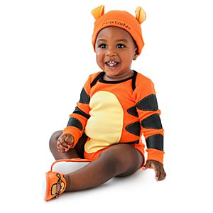 Personalized Tigger Bodysuit Set for Infants -- 2-Pc.