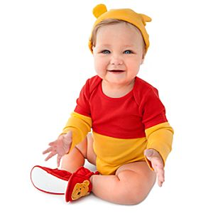 Personalized Winnie the Pooh Bodysuit Set for Infants -- 2-Pc.