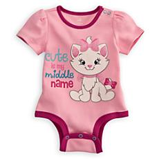 Marie Disney Cuddly Bodysuit for Baby