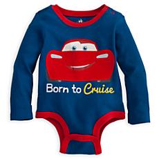 Cars Disney Cuddly Bodysuit for Baby
