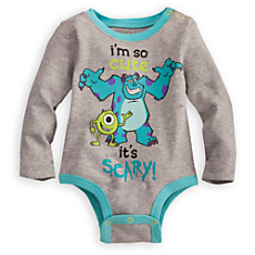 Monsters Disney Cuddly Bodysuit for Baby