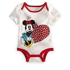 Minnie Mouse Disney Cuddly Bodysuit for Baby