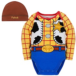 Woody Disney Cuddly Bodysuit Set for Baby - Personalizable