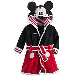 Mickey Mouse Bath Robe for Baby - Personalizable