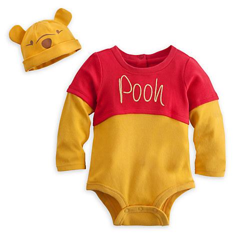 Winnie the Pooh Disney Cuddly Bodysuit Costume Set for