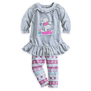 Winnie the Pooh Knit Dress Set for Baby