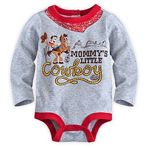 Woody Disney Cuddly Bodysuit for Baby - Toy Story