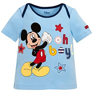 Oh Boy! Mickey Mouse Tee for Infants