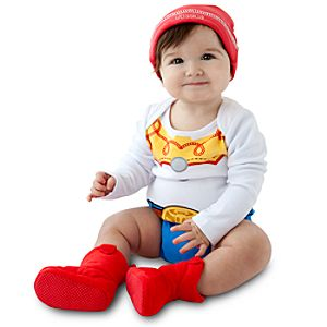 Jessie Costume Bodysuit and Cap for Infants -- Made With Organic Cotton