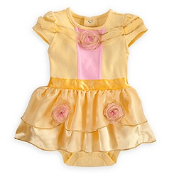 Belle Cuddly Costume Bodysuit for Baby