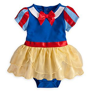 Snow White Cuddly Costume Bodysuit for Baby