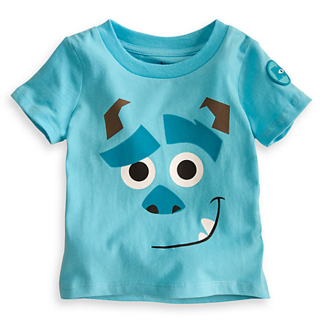 Sulley tee for baby monsters inc