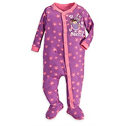 Boo Stretchie Sleeper for Baby - Monsters, Inc.