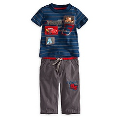 Lightning McQueen Shirt and Pants Set for Baby