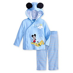 Mickey Mouse and Pluto Hoodie with Pants Set for Baby