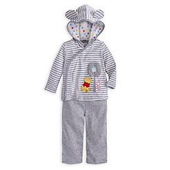 Winnie the Pooh Hoodie and Pants Set for Baby