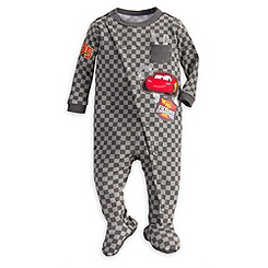 Lightning McQueen Stretchie Sleeper for Baby