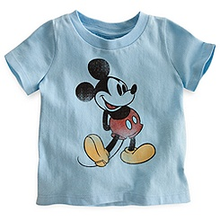 Mickey Mouse Classic Tee for Baby - Blue