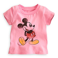 Mickey Mouse Classic Tee for Baby - Pink