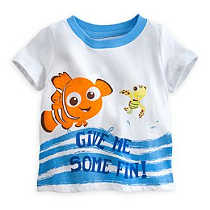 Nemo and Squirt Tee for Baby